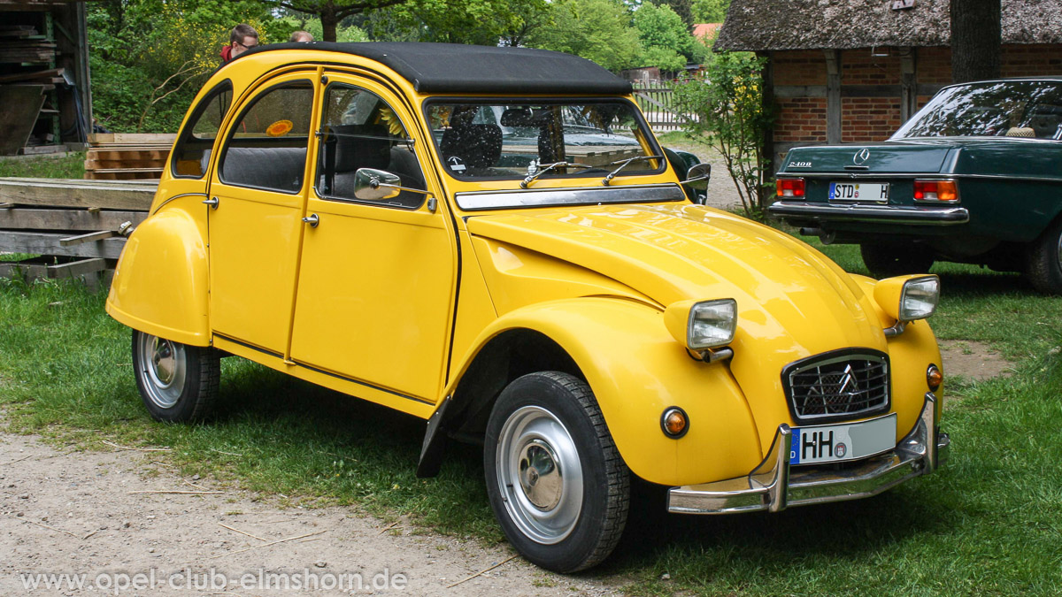 citroen 2cv ente opel club elmshorn. Black Bedroom Furniture Sets. Home Design Ideas