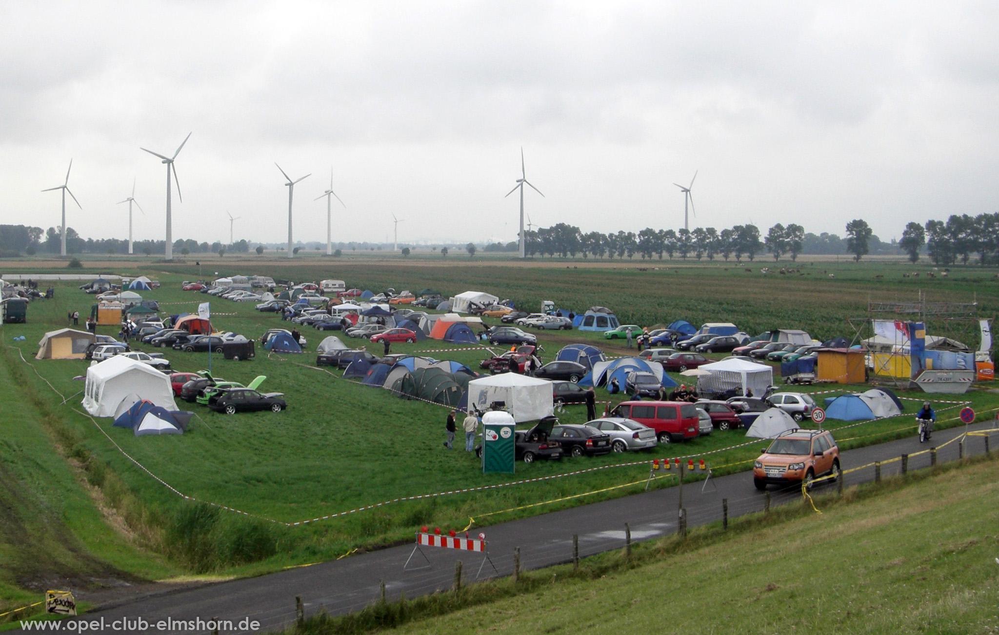 Opeltreffen Brunsbüttel Funmakers 2008 - 20080719_131141 - Treffengelände