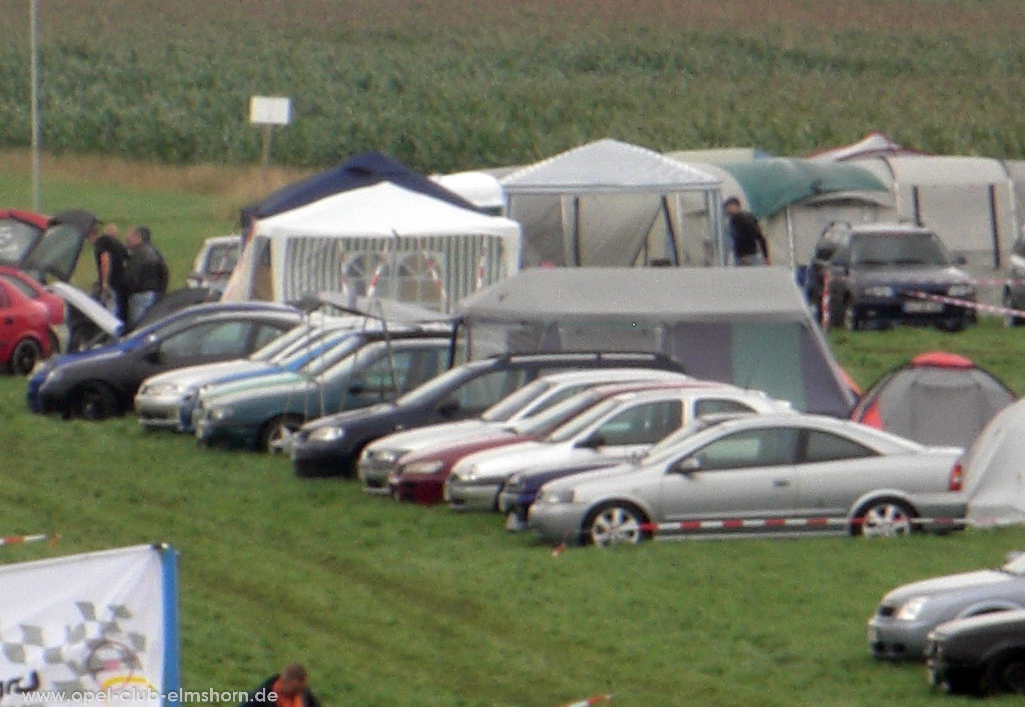 Opeltreffen Brunsbüttel Funmakers 2008 - 20080719_131210 - Unsere Fahrzeuge
