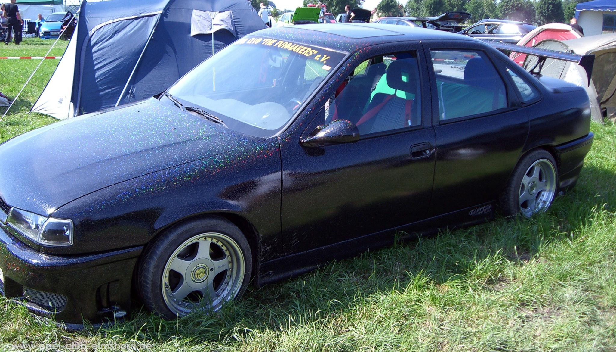 Opeltreffen Brunsbüttel Opelfreunde 2008 - 20080704_161852 - Vectra A mit Glitterlack