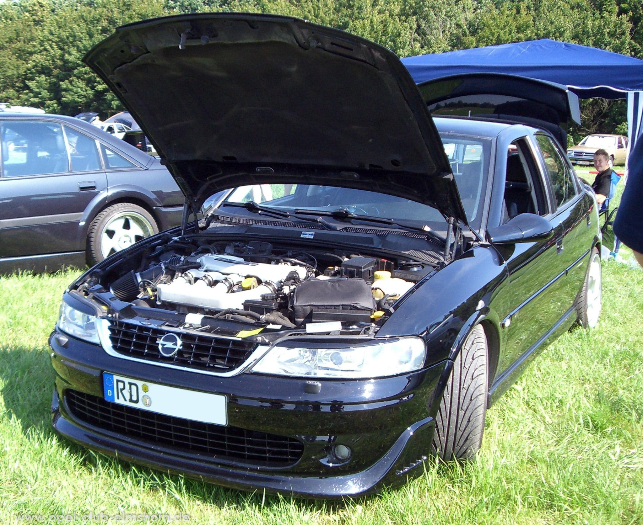 Opeltreffen Brunsbüttel Opelfreunde 2008 - 20080704_162211 - Vectra B i500