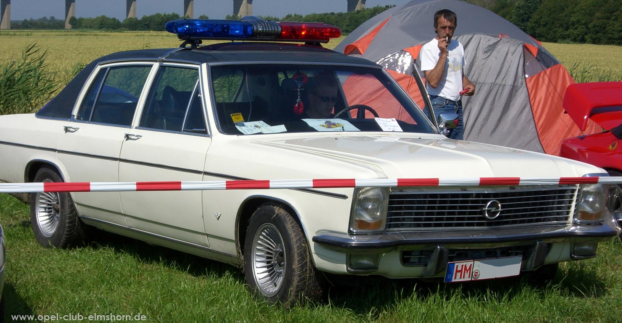 Opeltreffen Brunsbüttel Opelfreunde 2008 - 20080704_162440 - Diplomat