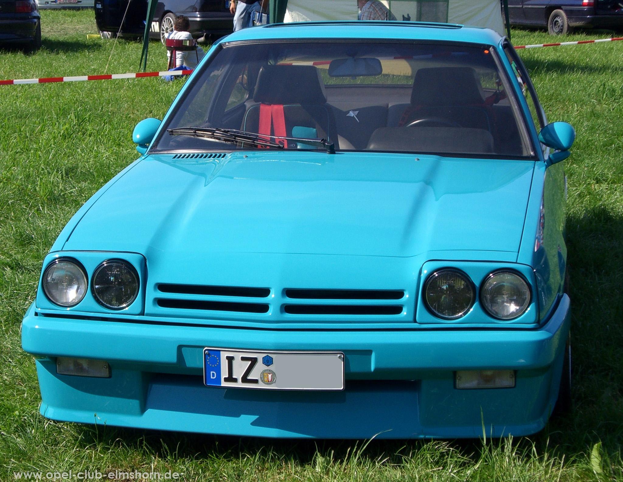 Opeltreffen Brunsbüttel Opelfreunde 2008 - 20080704_163654 - Manta B