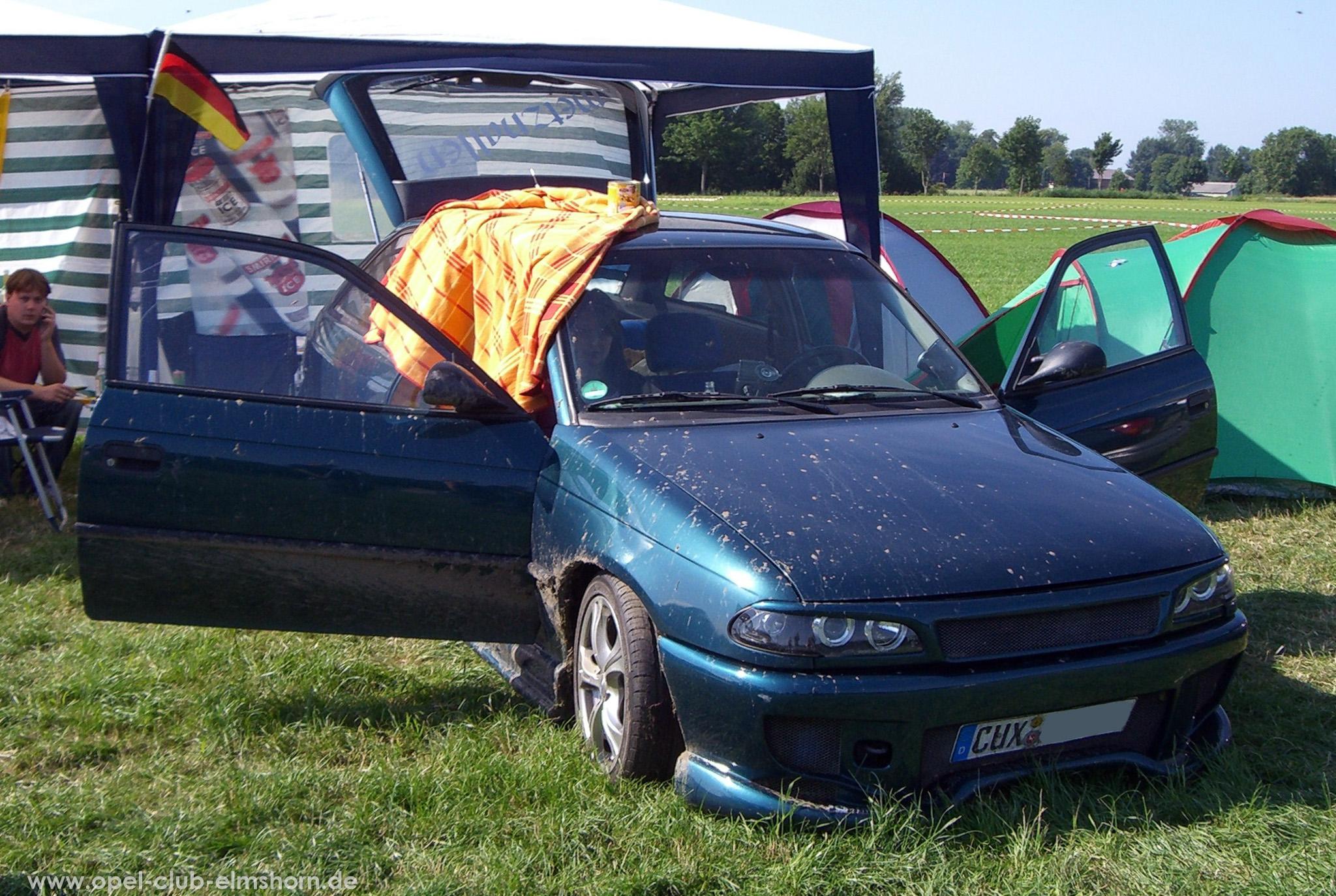 Opeltreffen Brunsbüttel Opelfreunde 2008 - 20080704_164626 - Astra F