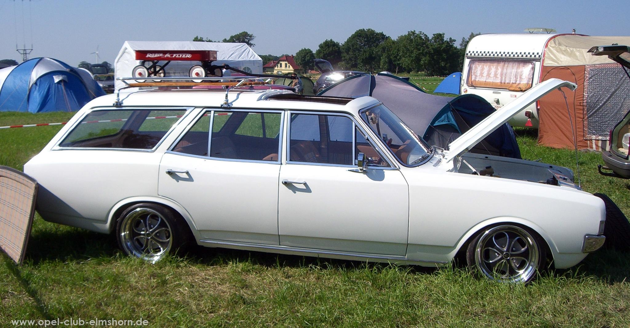 Opeltreffen Brunsbüttel Opelfreunde 2008 - 20080704_165400 - Rekord A Caravan