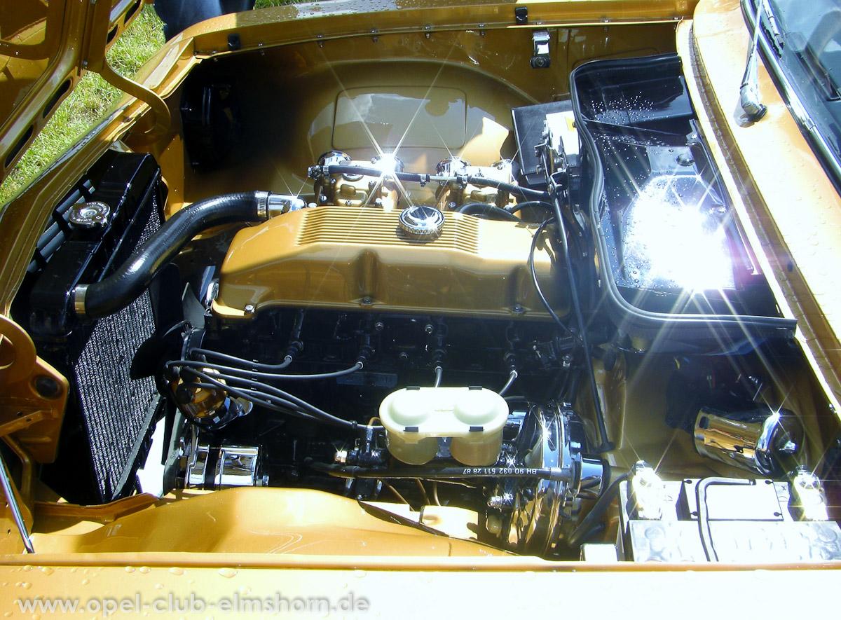 Bispingen-2011-0065-Motorraum-Opel-Ascona-A