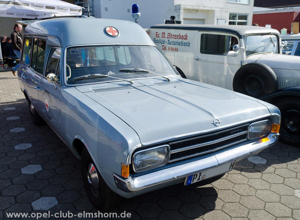 Wedel-2013-0046-Opel-Rekord-C-Krankenwagen-DRK