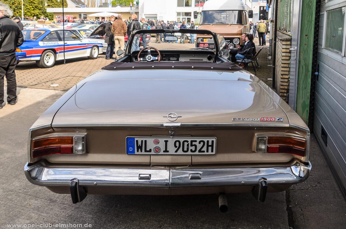 Altopeltreffen-Wedel-2016-20160501_114101-Opel-Rekord-C-Cabrio-Deutsch-Heck