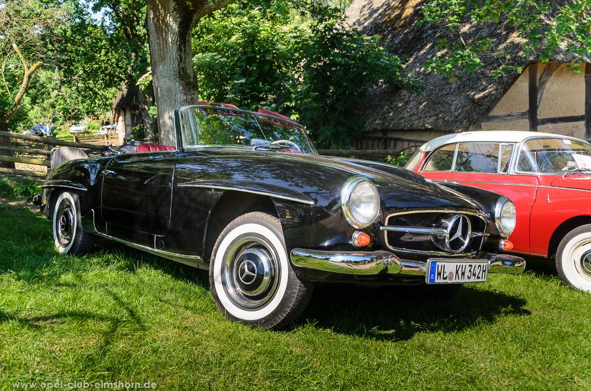 Oldtimertreffen-Rosengarten-Ehestorf-2016-20160605_111752-Mercedes-Benz-190SL