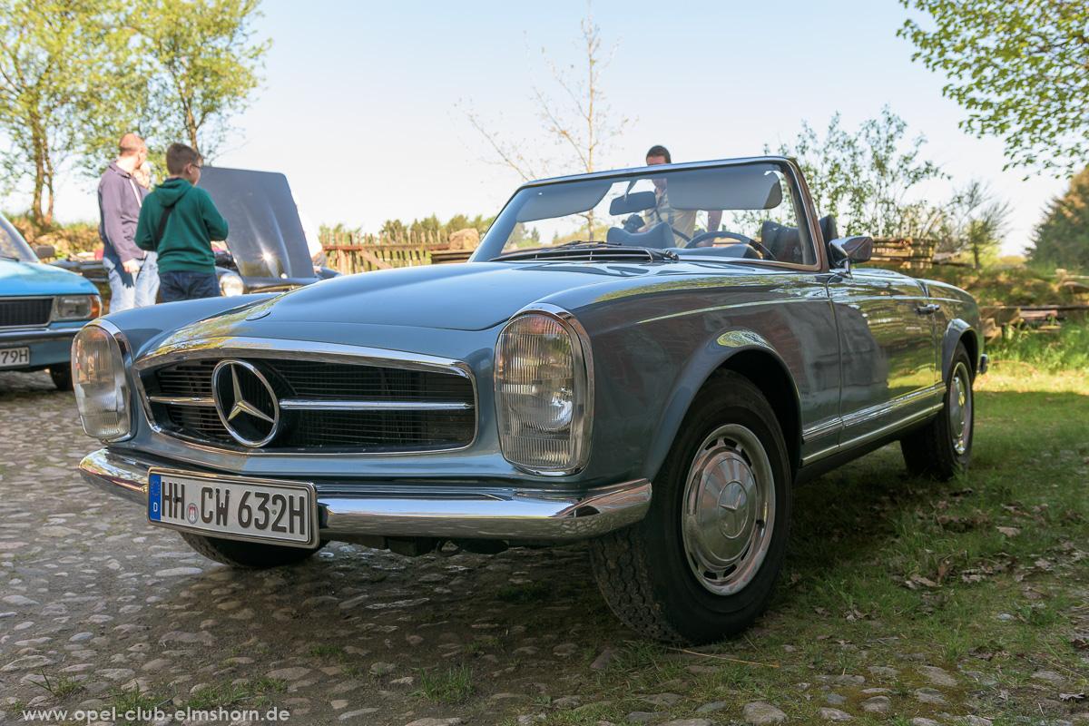 Oldtimertreffen-Rosengarten-2017-20170514_103810-Mercedes-Benz-SL-Roadster