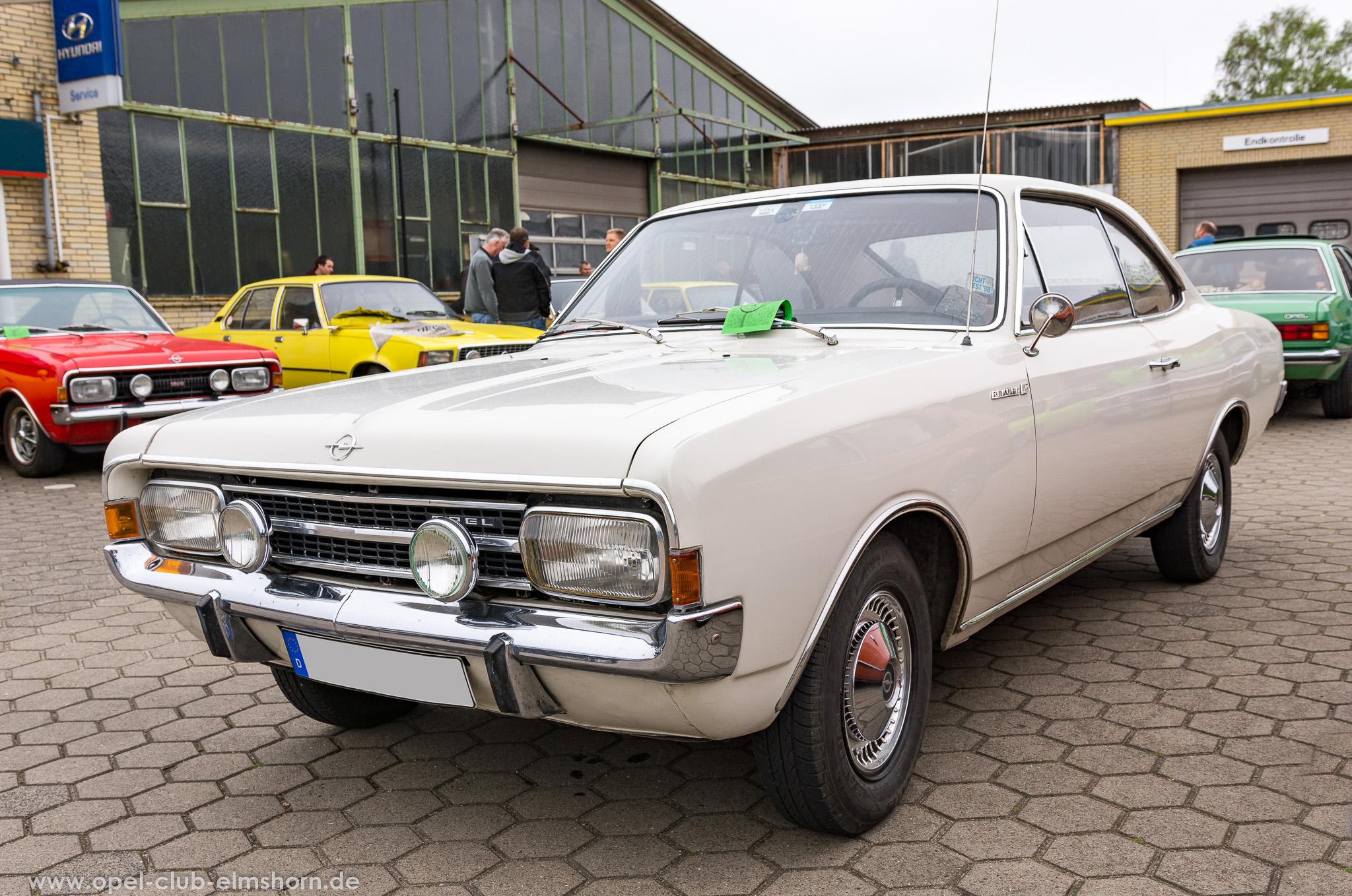 Altopeltreffen Wedel 2019 - 20190501_113111 - Opel Rekord C
