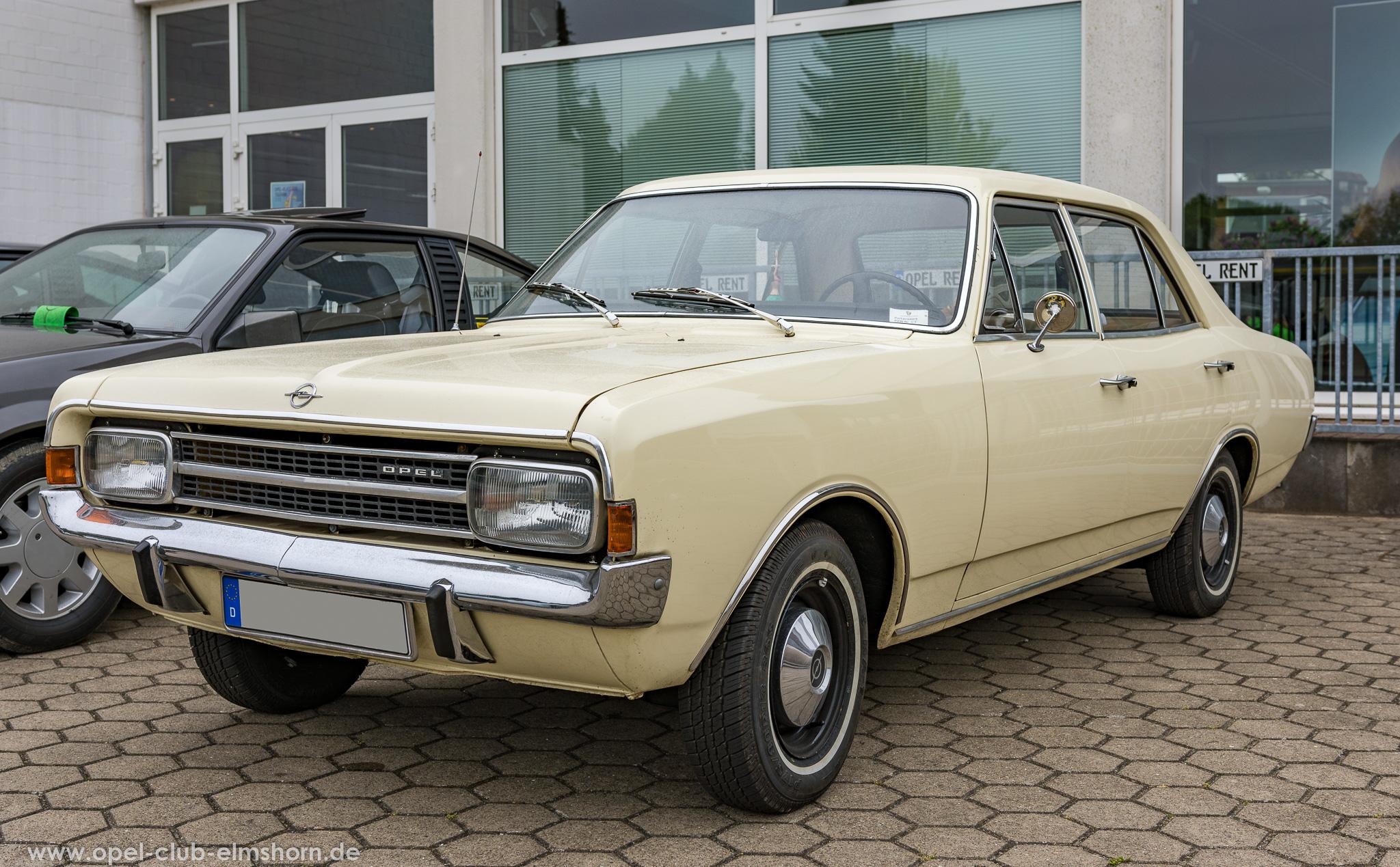 Altopeltreffen Wedel 2019 - 20190501_114030 - Opel Rekord C
