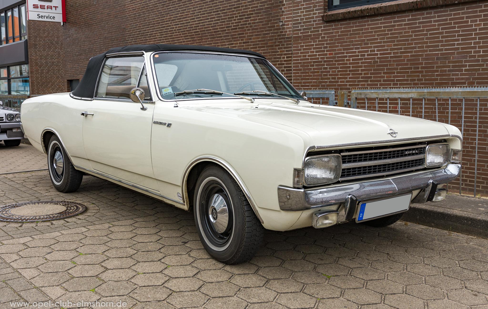 Altopeltreffen Wedel 2019 - 20190501_114218 - Opel Rekord C