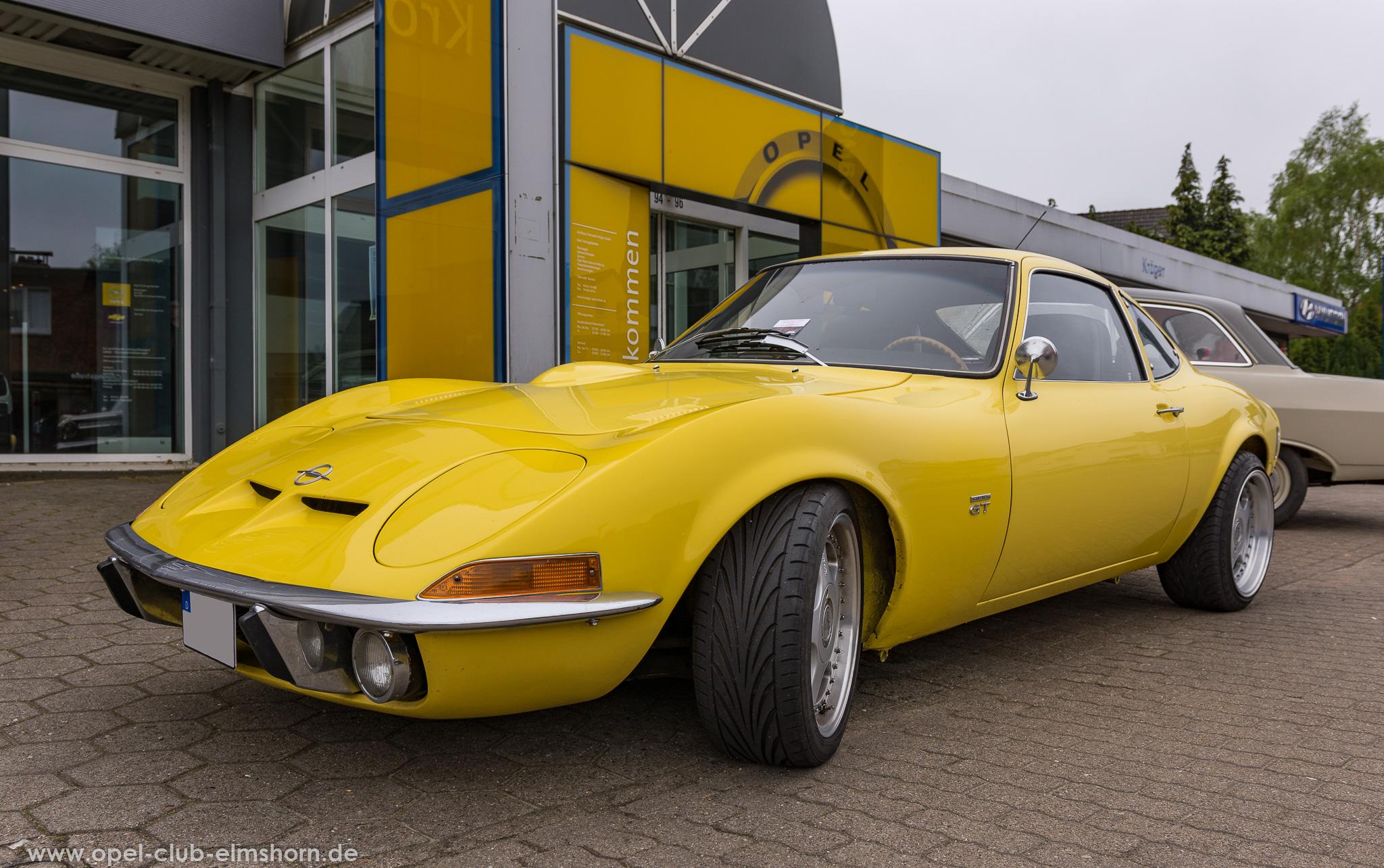 Altopeltreffen Wedel 2019 - 20190501_114408 - Opel GT