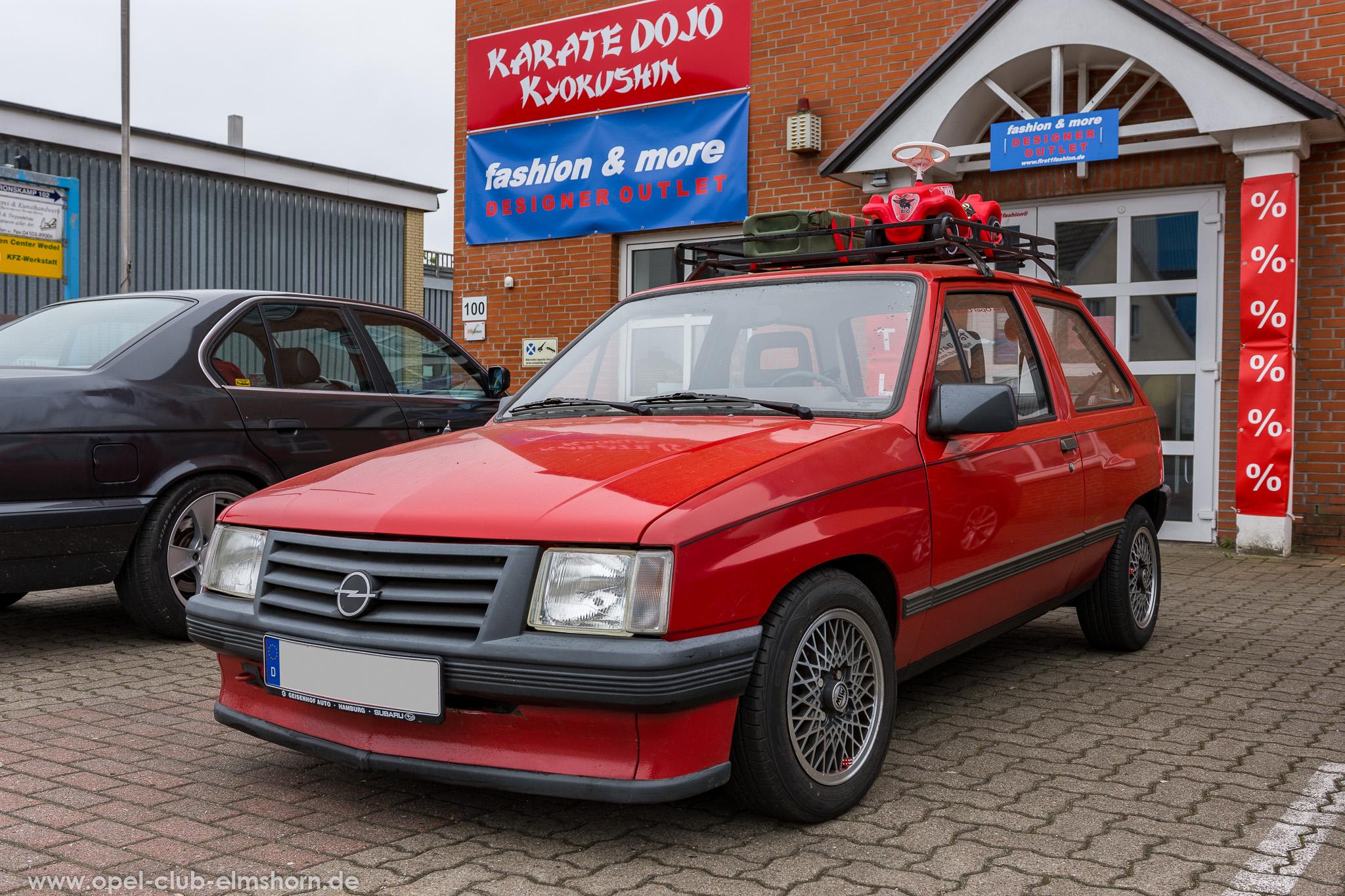 Altopeltreffen Wedel 2019 - 20190501_114716 - Opel Corsa A