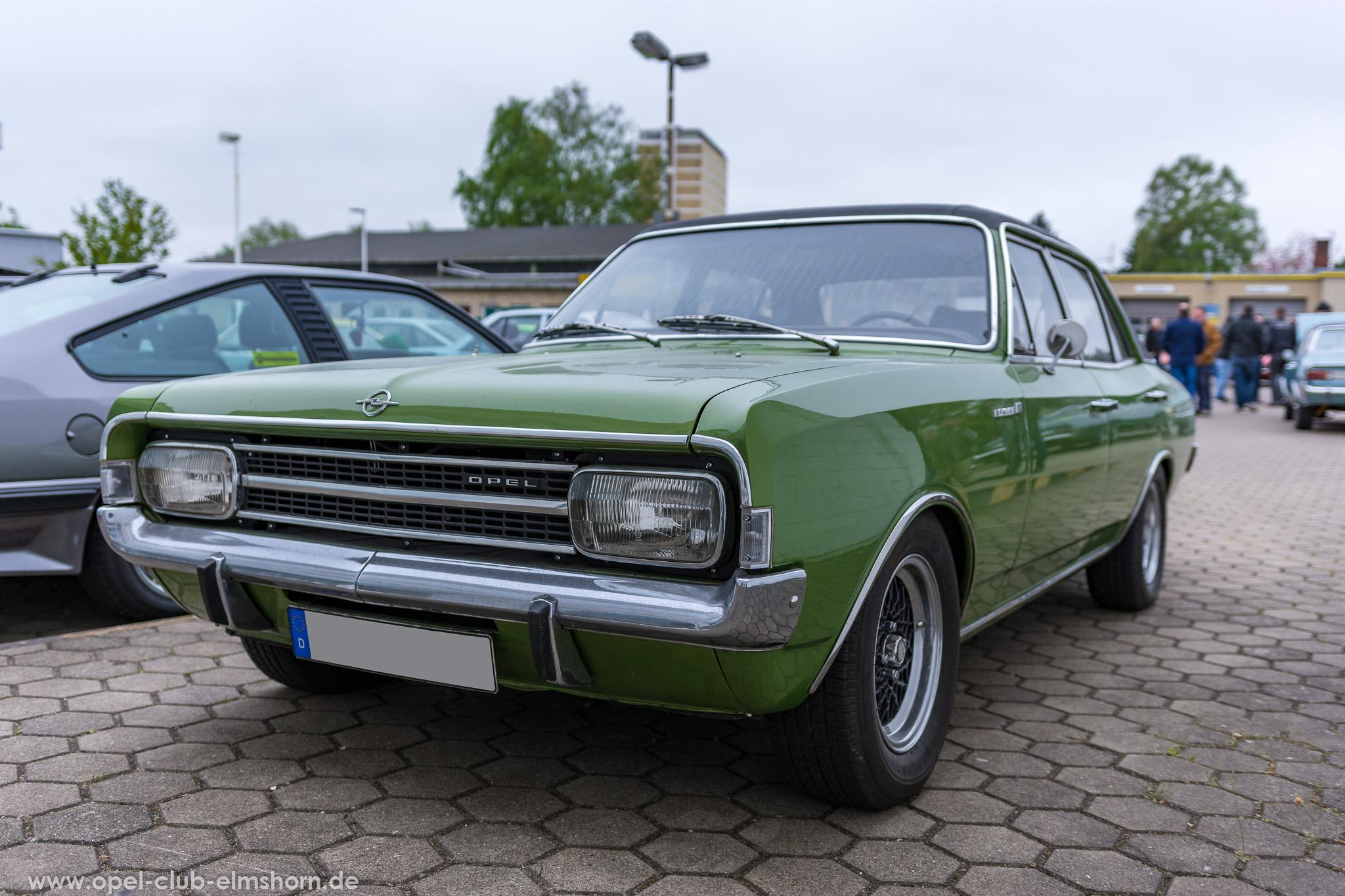 Altopeltreffen Wedel 2019 - 20190501_114857 - Opel Rekord C