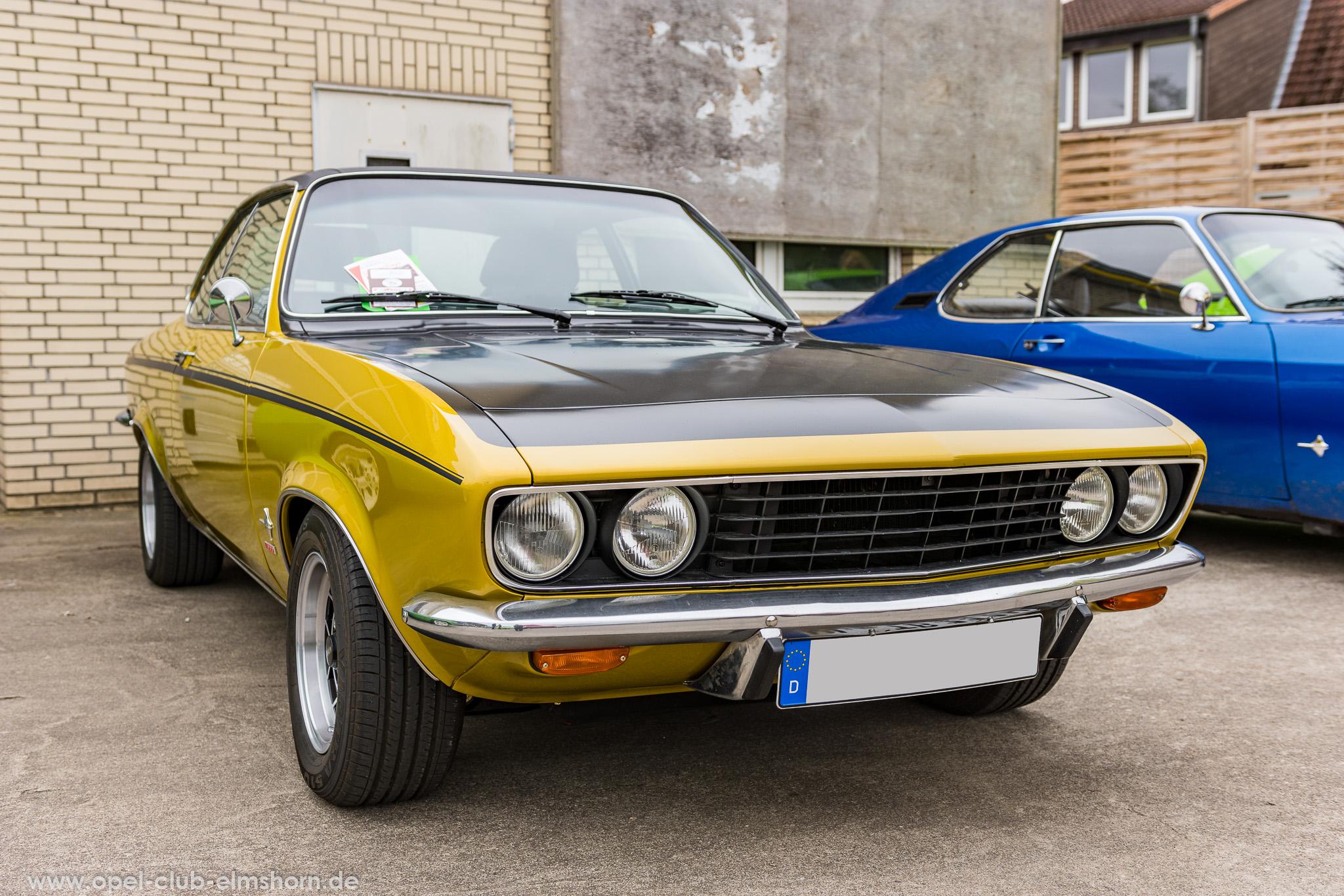Altopeltreffen Wedel 2019 - 20190501_122615 - Opel Manta A