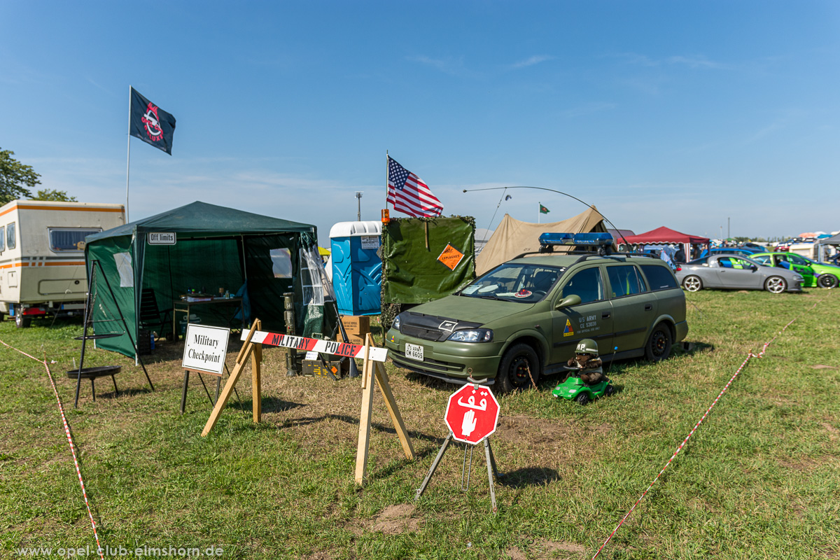 Opel Astra G Military Camp