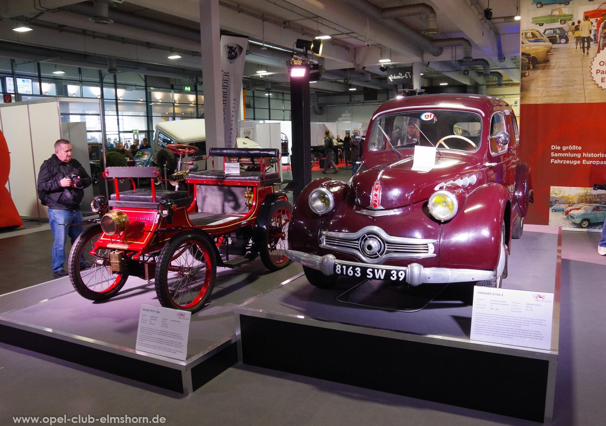 Rochet Petit 1902 Motorkutsche und Panhard Dyna X